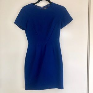 Topshop blue mini dress